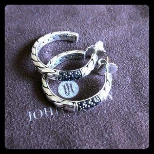 John Hardy Black Sapphire Earrings